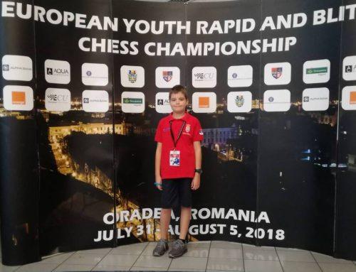 LUKA RISTIĆ na Kadetskom prvenstvu Evrope u Rigi!