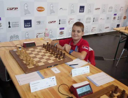 Luka Ristić ispustio prednost nad prvakom Rusije